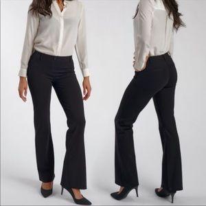 Betabrand black soft pants